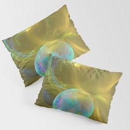 Eclipsing Spheres Pillow Sham