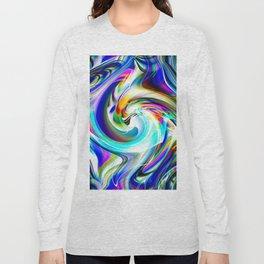 Abstract perfection - Circle 1 Long Sleeve T-shirt