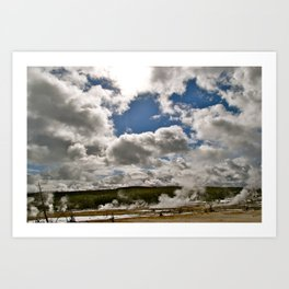 Touch the Clouds Art Print