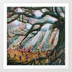 The Children's Tree Of Life #2 Art Print