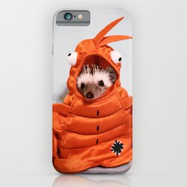 Incognito Hedgehog iPhone Case