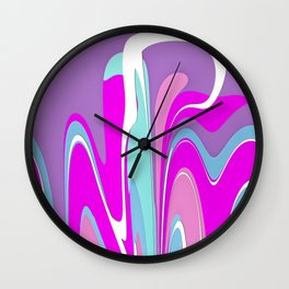 Pink Melody Wall Clock