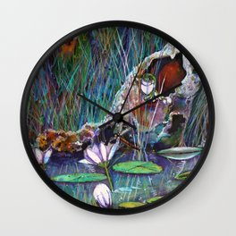 Secret Hollow Wall Clock