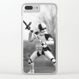 Let's fight! Clear iPhone Case