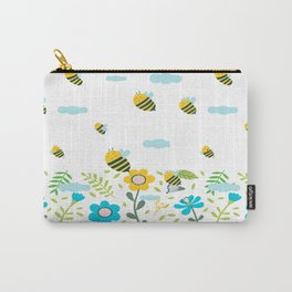 Bee Flaying Carry-All Pouch