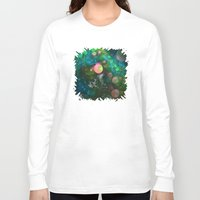 psychadelic Long Sleeve T-shirts featuring Inner Space by Lyle Hatch