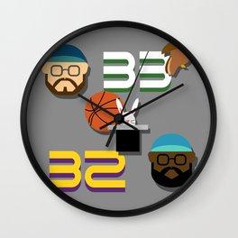 Magic & Bird Wall Clock