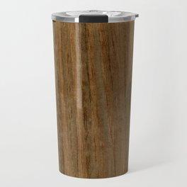Etomie (Flat Cut) Wood Travel Mug