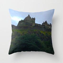 Edinburgh Castle, Scotland, photo 1  Throw Pillow