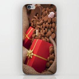 III - Bag with treats, for traditional Dutch holiday 'Sinterklaas' iPhone Skin