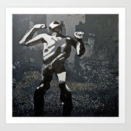 La Ira (2011) Art Print