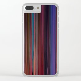 Beauty And Beast Movie Barcode Clear iPhone Case