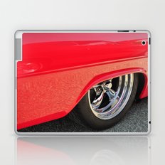 Red and Chrome Laptop & iPad Skin