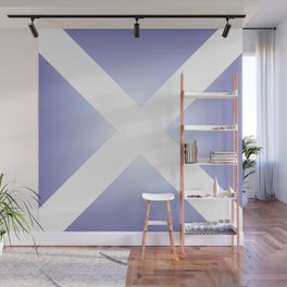 flag of scotland - with color gradient Wall Mural