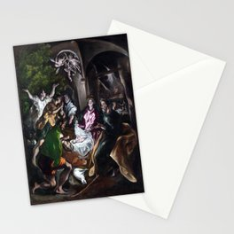 El Greco The Adoration of the Shepherds Stationery Cards