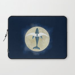 Flying whale Laptop Sleeve