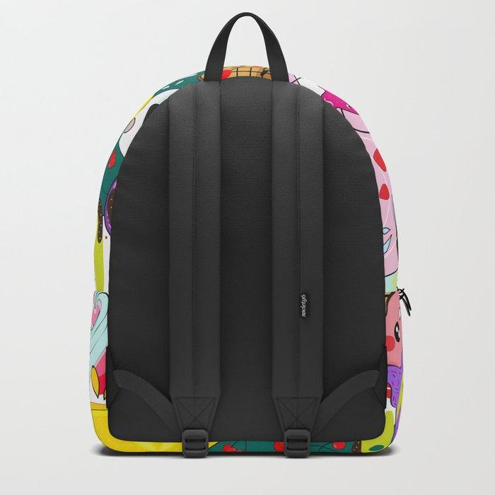 Crazy summer doodleys Backpack