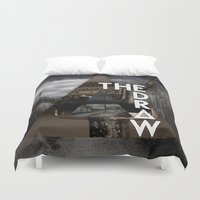 bastille Duvet Covers featuring Bastille - The Draw by Thafrayer