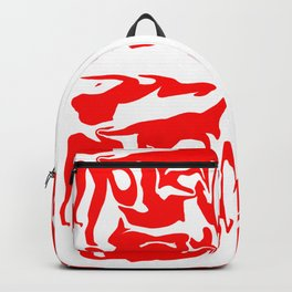 face3 red Backpack