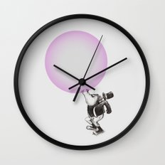 Bubblegum Blowing Champion Wall Clock