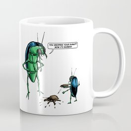 Dung Beetles Coffee Mug