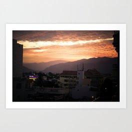 Nha Trang Sky Art Print