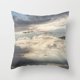 Stratocumulus Clouds 2 Throw Pillow