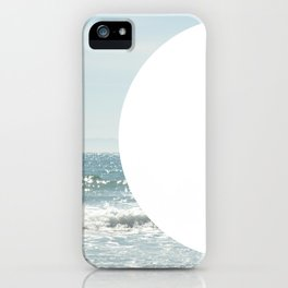 Not even the sun, Not even the moon ( - space ) iPhone Case
