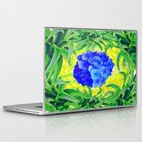 brasil Laptop & iPad Skins featuring Brasil Flag by Jess Batista