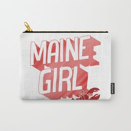 Maine Girl Carry-All Pouch