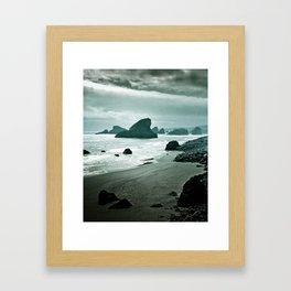 Moonlight bay Framed Art Print