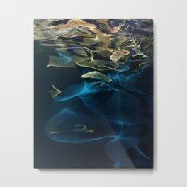 H2O # 49 - Water abstract series Metal Print