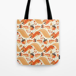 Adorably Squirrely Tote Bag