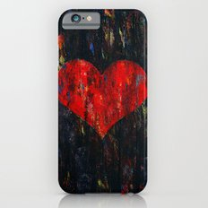 Red Heart iPhone 6s Slim Case
