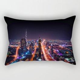 Dubai Skyscrapers Rectangular Pillow