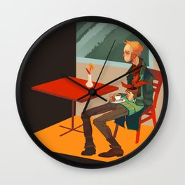 solipsism syndrome Wall Clock
