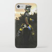moto iPhone & iPod Cases featuring Moto Sunset by Konrad Hempel Photography