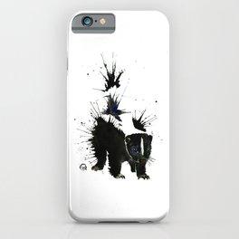 Skunk - Ink Blot iPhone Case