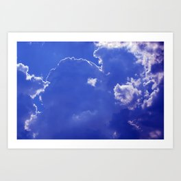 Clouds over Baden-Wurttemberg Art Print
