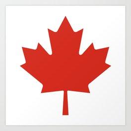 O Canada Art Print