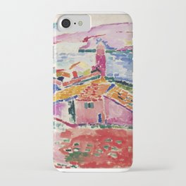 View of Collioure - Henri Matisse - Exhibition Poster iPhone Case