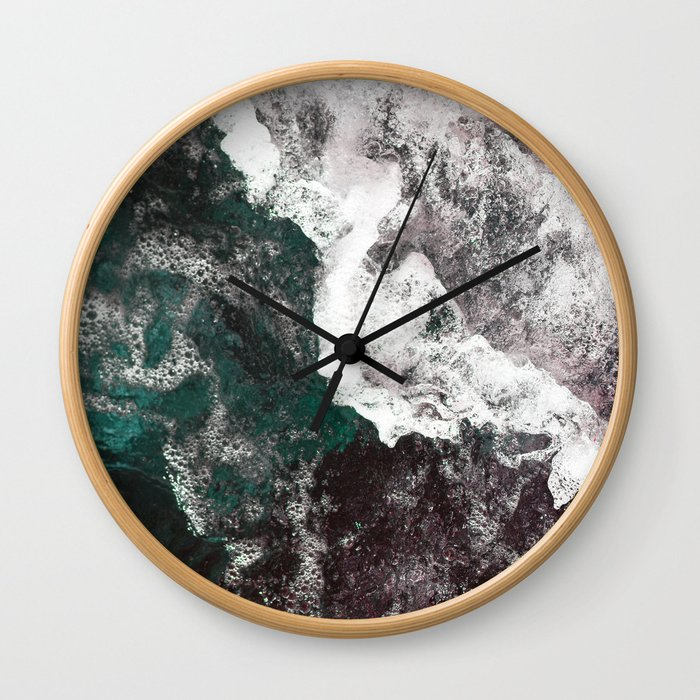 Abstract Sea, Water Wall Clock