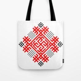Rodimich - Antlers - Slavic Symbol #1 Tote Bag