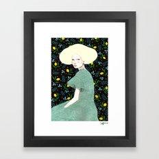 Iva Framed Art Print