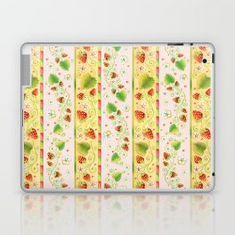 Strawberries and Cream Laptop & iPad Skin