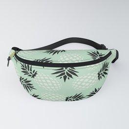 Mint Pineapple Pattern 023 Fanny Pack