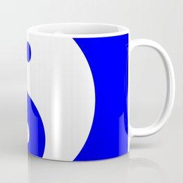 Yin & Yang (White & Blue) Coffee Mug