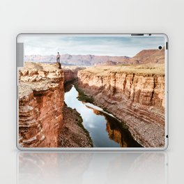 on top of the canyonland Laptop & iPad Skin