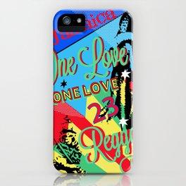 Rasta Reggae One Love Party iPhone Case