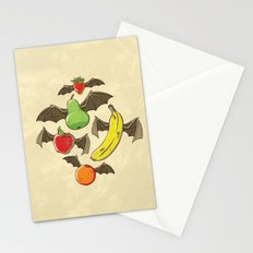 Fruit Bats Stationery Cards
